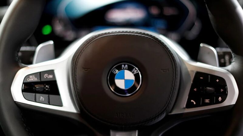 BMW says chip shortage, raw material prices to hit second half
